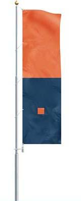 Super aluminium sectional flagpole
