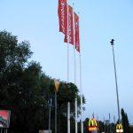 Maszty flagowe kompozytowe LUKOIL