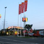 Fiberglass flagpoles, Business Park Varna
