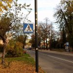 Słupy oświetleniowe Designpole, PKP Warszawa Zachodnia